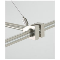 MonoRail Satin Nickel Rail Power Outside Rigger Ceiling Light