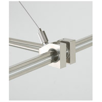 MonoRail Satin Nickel Rail Support Outside Rigger Ceiling Light
