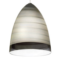 Tech Lighting 700FJNEBLKS-LEDS930 Nebbia 1 Light Satin Nickel Low-Voltage Pendant Ceiling Light