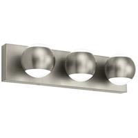 Tech Lighting 700BCOKO3S-LED930 Oko LED 18 inch Satin Nickel Bath Light Wall Light