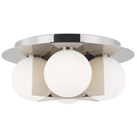 Tech Lighting 700FMOBLN Orbel LED 15 inch Polished Nickel Flush Mount Ceiling Light