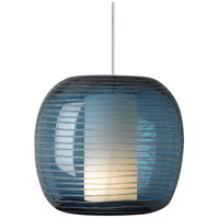 Tech Lighting 700MPOTOUC Otto 1 Light 4 inch Chrome Pendant Ceiling Light in Steel Blue, Monopoint