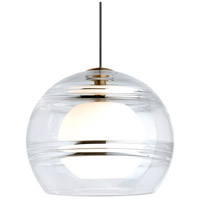 Sedona LED 6 inch Satin Nickel Pendant Ceiling Light