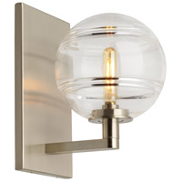 Tech Lighting 700WSSDNCS Sedona 7 inch Satin Nickel Wall Light in Clear