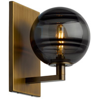 Sedona LED 7 inch Aged Brass Wall Sconce Wall Light