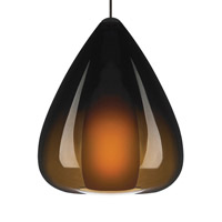 Soleil 1 Light 6 inch Antique Bronze Low-Voltage Pendant Ceiling Light in Havana Brown, MonoRail