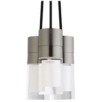 Tech Lighting 700TDSPRP3CRS-LEDWD Sopra LED 2 inch Satin Nickel Pendant Ceiling Light