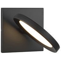 Tech Lighting 700WSSPCTB-LED930 Spectica LED 7 inch Matte Black Wall Sconce Wall Light