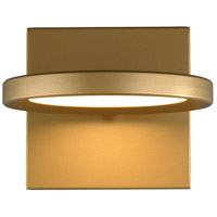 Tech Lighting 700WSSPCTG-LED930 Spectica LED 7 inch Satin Gold Wall Sconce Wall Light