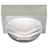 Sphere LED 3 inch Satin Nickel Flush Mount Ceiling Light