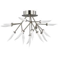 Tech Lighting 700FMSPRS-LED927 Spur LED 29 inch Satin Nickel Flush Mount Ceiling Light
