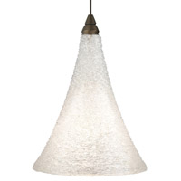 Sugar LED Antique Bronze Low-Voltage Pendant Ceiling Light in White, 2-Circuit MonoRail