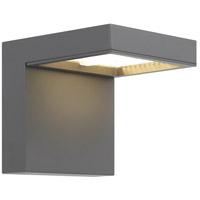 Tech Lighting 700OWTAG83010CHUNV3SP Taag LED 10 inch Charcoal Outdoor Wall Light