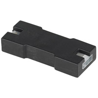 Unilume LED Slimline 1 inch Black Unilume LED Slimline Female To Female Connector