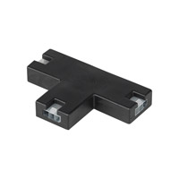 Unilume LED Slimline 1 inch Black Unilume LED Slimline T Connector