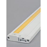 Unilume LED Slimline 120V LED 7 inch White Cabinet Light