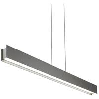 Tech Lighting 700LSVANYS-LED830 Vandor LED 50 inch Satin Nickel Linear Suspension Ceiling Light