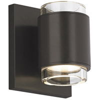 Voto LED 4 inch Black Wall Sconce Wall Light