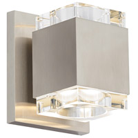 Voto LED 4 inch Satin Nickel Wall Sconce Wall Light