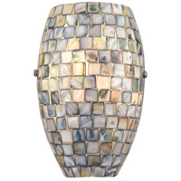 TrulyCoastal 30863-SNI Dewey Beach 1 Light 6 inch Satin Nickel ADA Sconce Wall Light
