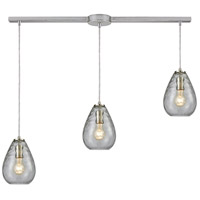 TrulyCoastal Satin Nickel Tidal Mini Pendants