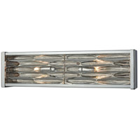 TrulyCoastal 31026-PCSR Rabbit Beach 2 Light 19 inch Polished Chrome Vanity Light Wall Light