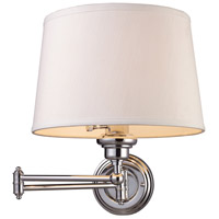 Truly Coastal 31030-PC Englishman Bay 1 Light 12 inch Polished Chrome Sconce Wall Light in Incandescent