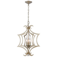 Truly Coastal 30067-ASI Beagle Channel 3 Light 15 inch Aged Silver Pendant Ceiling Light