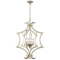 Truly Coastal 30068-ASI Beagle Channel 6 Light 21 inch Aged Silver Pendant Ceiling Light