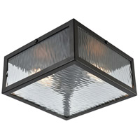 TrulyCoastal 31241-ORCR Harborside 2 Light 11 inch Oil Rubbed Bronze Flush Mount Ceiling Light