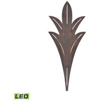 Truly Coastal 31562-BRL Suisun Bay LED 18 inch Bronze Rust Outdoor Sconce