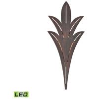 TrulyCoastal 31563-BRL Suisun Bay LED 26 inch Bronze Rust Outdoor Sconce