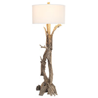 Truly Coastal 30432-N Youngs Bay 68 inch 100 watt Natural Floor Lamp Portable Light
