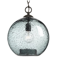 Truly Coastal 30351-ABRB Burtons Bay 1 Light 12 inch Antique Bronze Pendant Ceiling Light Design Series