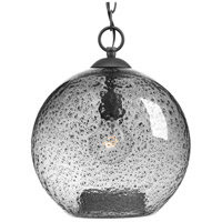Truly Coastal 30352-GSTI Burtons Bay 1 Light 12 inch Graphite Pendant Ceiling Light Design Series