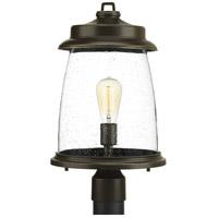 TrulyCoastal 30279-ABCS Queenscliff 1 Light 19 inch Antique Bronze Outdoor Post Lantern