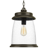 TrulyCoastal 30283-ABCS Queenscliff 1 Light 11 inch Antique Bronze Outdoor Hanging Lantern