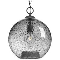 TrulyCoastal 30352-GSTI Burtons Bay 1 Light Graphite Pendant Ceiling Light Design Series