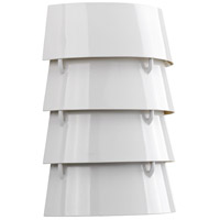 TrulyCoastal 31640-WI Blue Hill 2 Light 9 inch White ADA Wall Sconce Wall Light Jeffrey Alan Marks Design Series