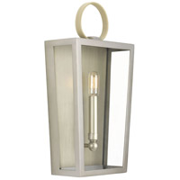 TrulyCoastal 31633-ANCF Oludeniz Beach 1 Light 8 inch Antique Nickel ADA Wall Sconce Wall Light Jeffrey Alan Marks Design Series