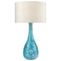Truly Coastal 30593-SG Portsmouth 29 inch 100 watt Seafoam Green Table Lamp Portable Light in Incandescent 3-Way