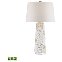 Truly Coastal 30540-NL Hawksbill 29 inch 9.5 watt Natural Table Lamp Portable Light in LED 3-Way
