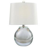 Truly Coastal 30458-CL Star 19 inch 60 watt Clear Table Lamp Portable Light