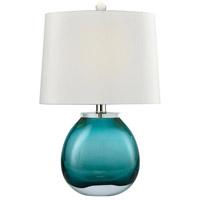 Truly Coastal 30367-GL Star 19 inch 60 watt Green Table Lamp Portable Light
