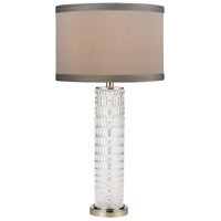 Truly Coastal 30513-PNC Humboldt Bay 29 inch 150 watt Polished Nickel/Clear Table Lamp Portable Light