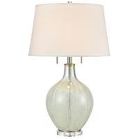 Truly Coastal 30532-CC Tossa de Mar 30 inch 60 watt Clear/White Table Lamp Portable Light