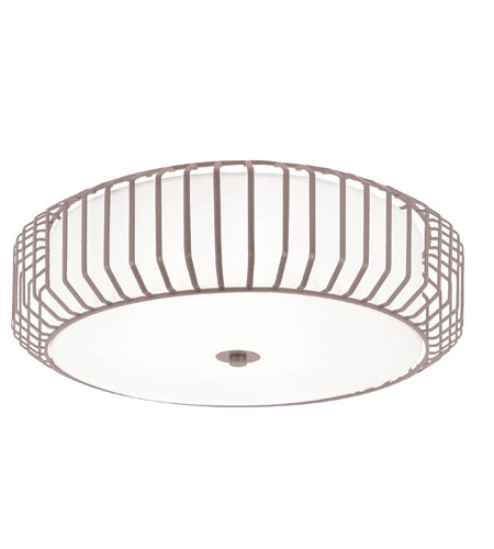 Trans Globe Lighting Signature 4 Light Flush Mount in Brushed Nickel 10032-BN photo