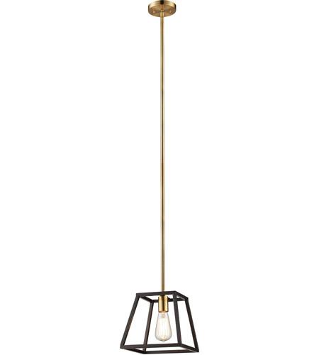 Trans Globe Lighting 10461 ROB Adams Indoor Rubbed Oil Bronze Transitional Pendant 9.25