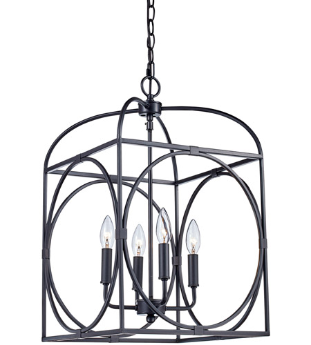 Trans Globe Lighting 10514 Rob Academy 4 Light 14 Inch Rubbed Oil Bronze Pendant Ceiling