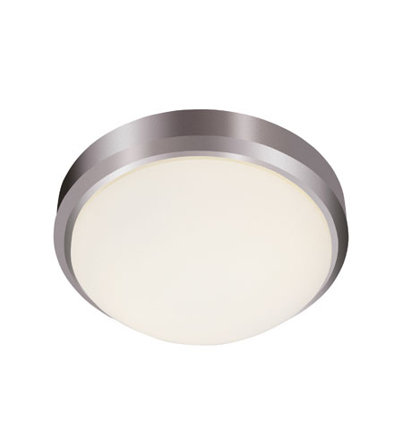 Trans Globe Signature 2 Light Flush Mount in Brushed Nickel 13880-BN photo